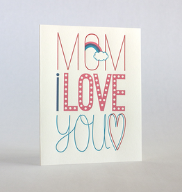 Fugu Fugu Press Mom's Fun Fonts Card