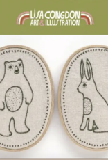 Critters Embroidery Kit