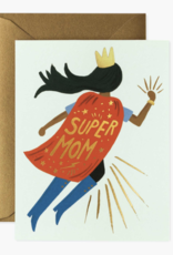 Rifle Paper Co Super Mom Blue Card