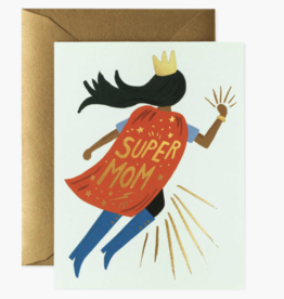 Rifle Paper Co Super Mom Blue Card