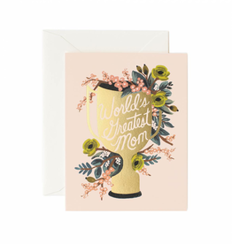 RIFFLE PAPER CO World's Greatest Mom Card