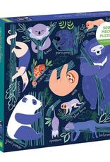 Tree-Dwelling Slowpokes 500 Piece Puzzles