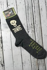 BlueQ I Almost Died Men's Crew Socks