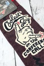 BlueQ Coolest Guy Men's Crew Socks
