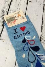I Heart Crying Women's Ankle Socks