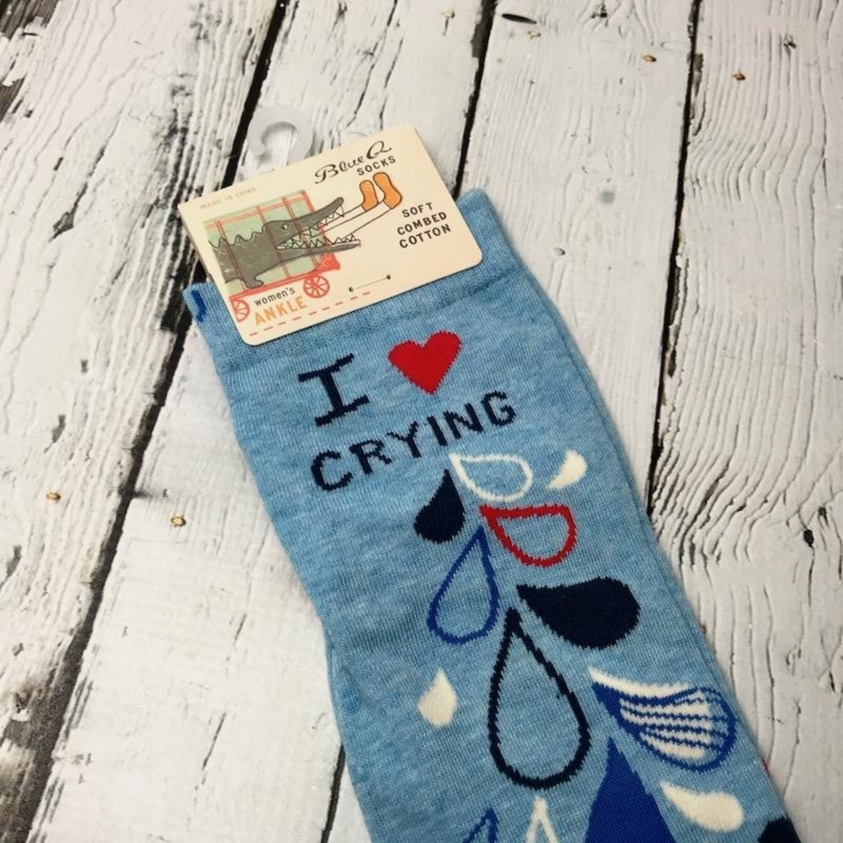 I Heart Crying Women's Ankle Socks