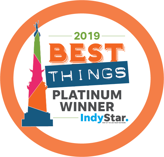 Thank You for Voting Us One of Indy's Best Things!