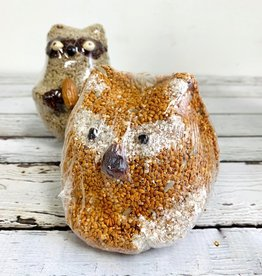 Fox Bird Seed Ornament