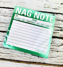NAG NOTE Metallic Sticky Notepad