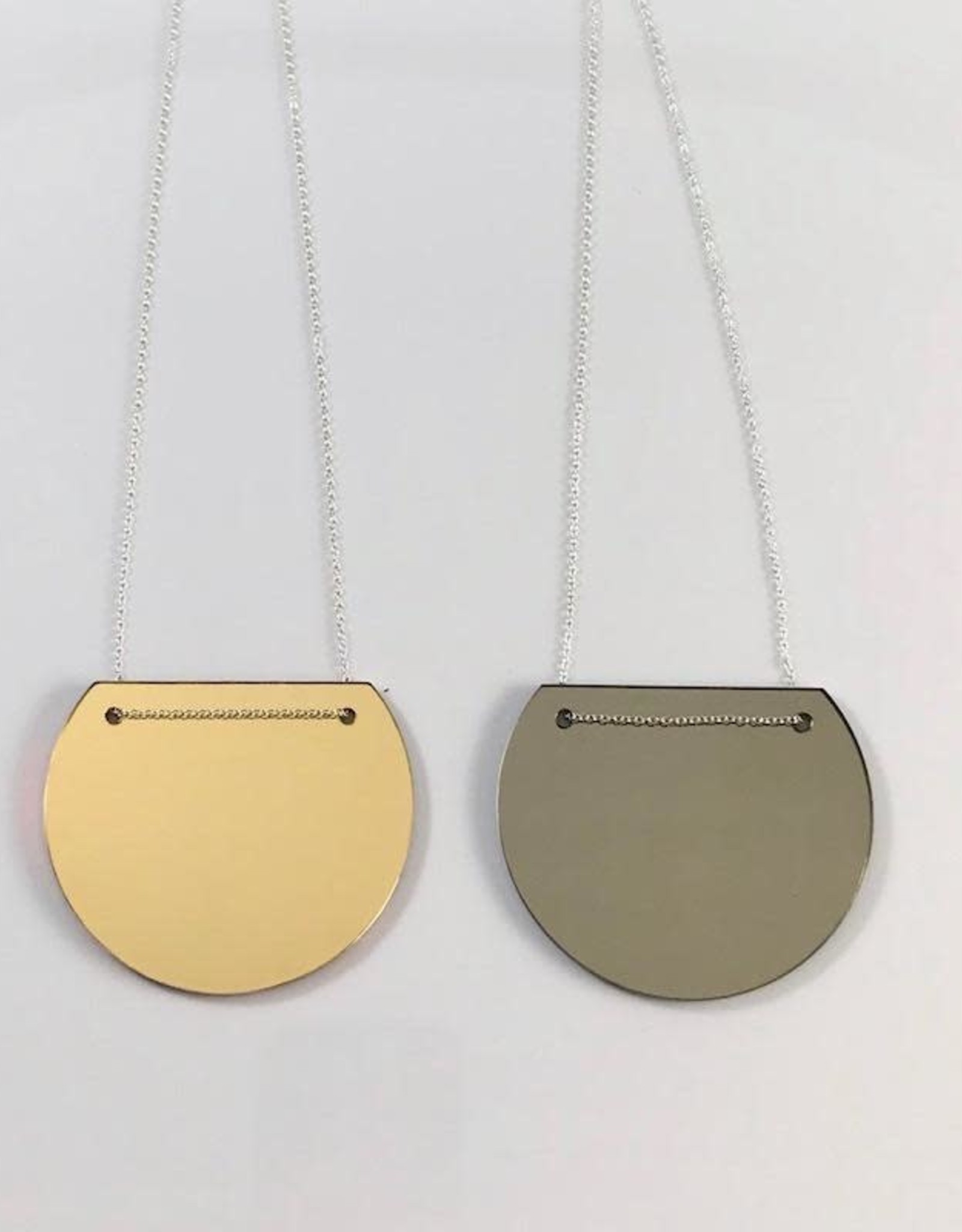 Modern Viva Necklace made from Rescued Architectural Materials