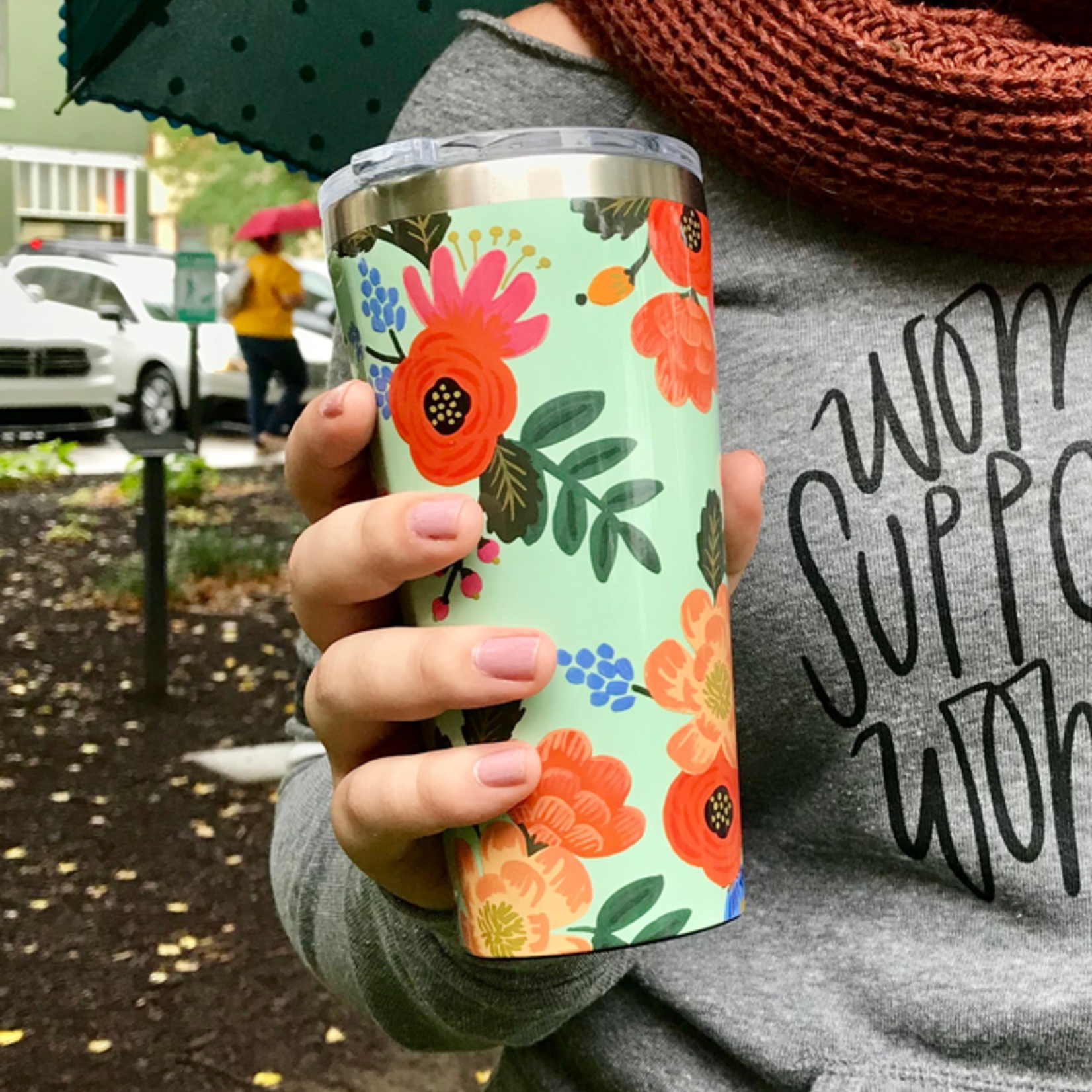 Rifle Paper Co 16oz Tumbler