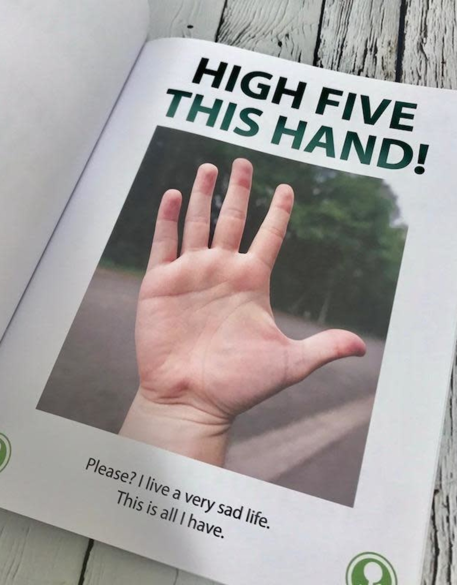 ACCOUTREMENTS High Five This Sign