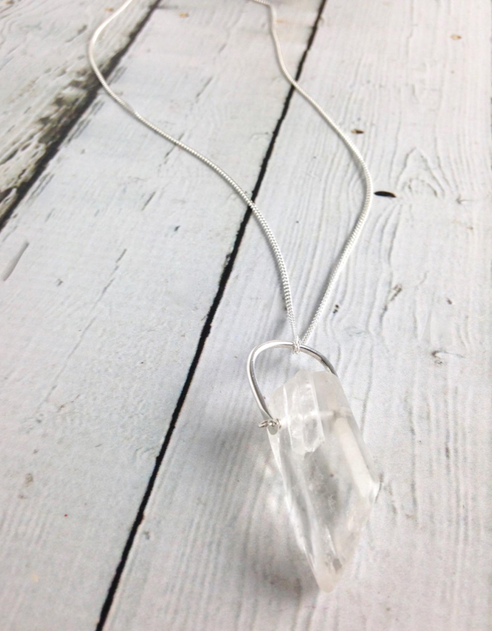 Handmade Silver Beacon Necklace