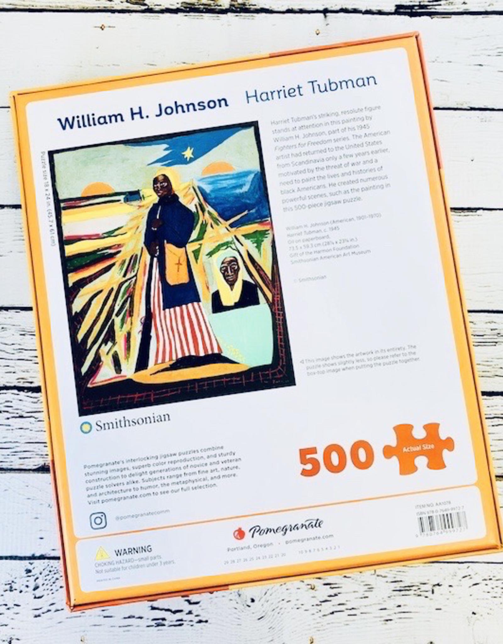 POMEGRANATE William H. Johnson: Harriet Tubman 500-Piece Jigsaw Puzzle