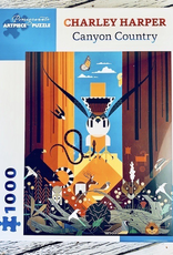 Charley Harper Canyon Country 1000-pc Puzzle