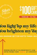 Digital Gift Card for silverinthecity.com
