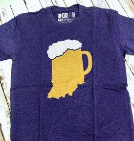 Indiana Beer Mug Tee