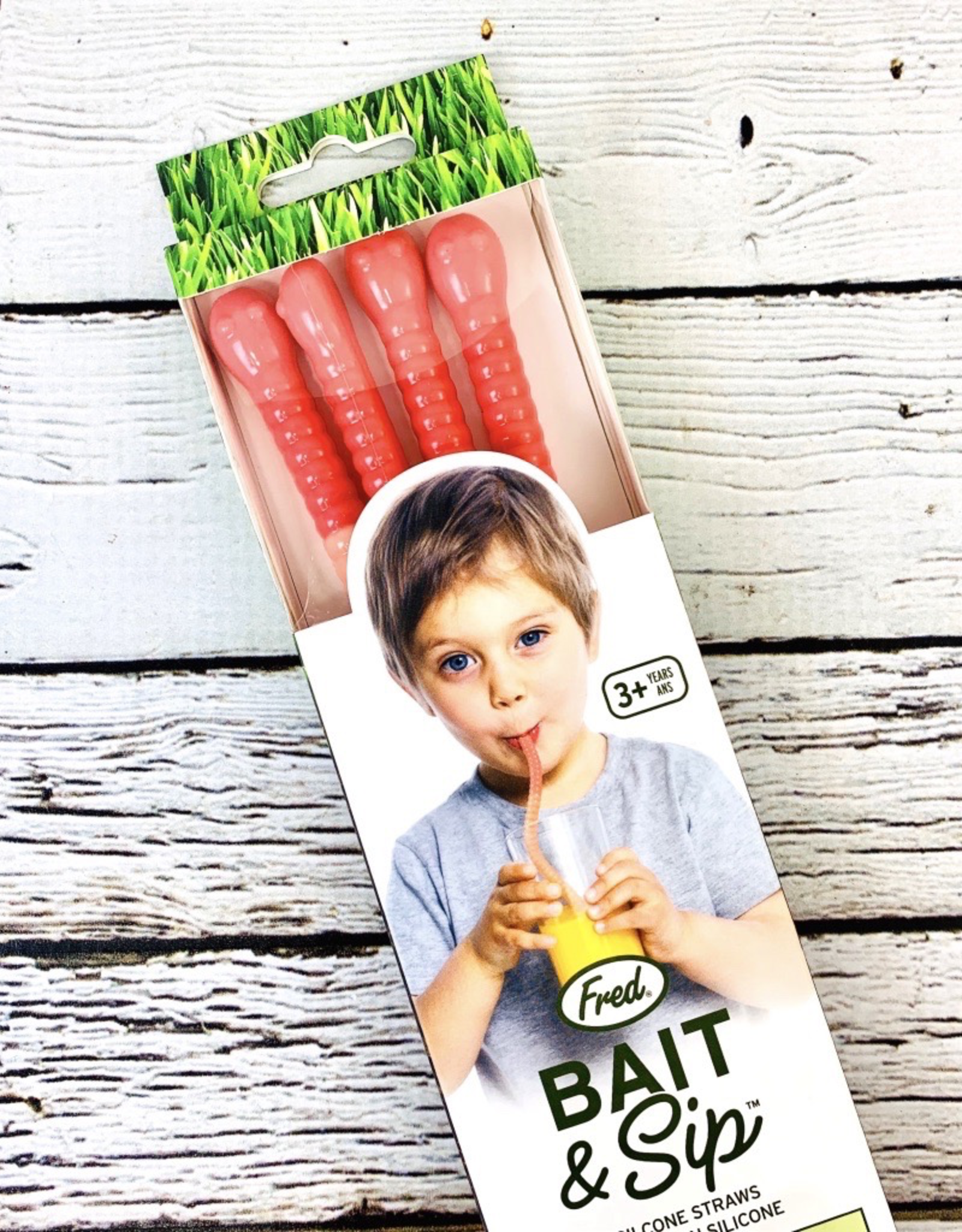 Fred Bait and Sip Straws