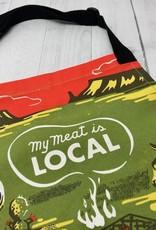 BlueQ My Meat is Local Apron