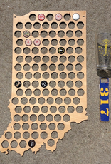 Indiana Beer Cap Holder