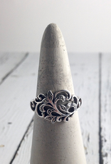 Sterling Silver and Marcasite Ring