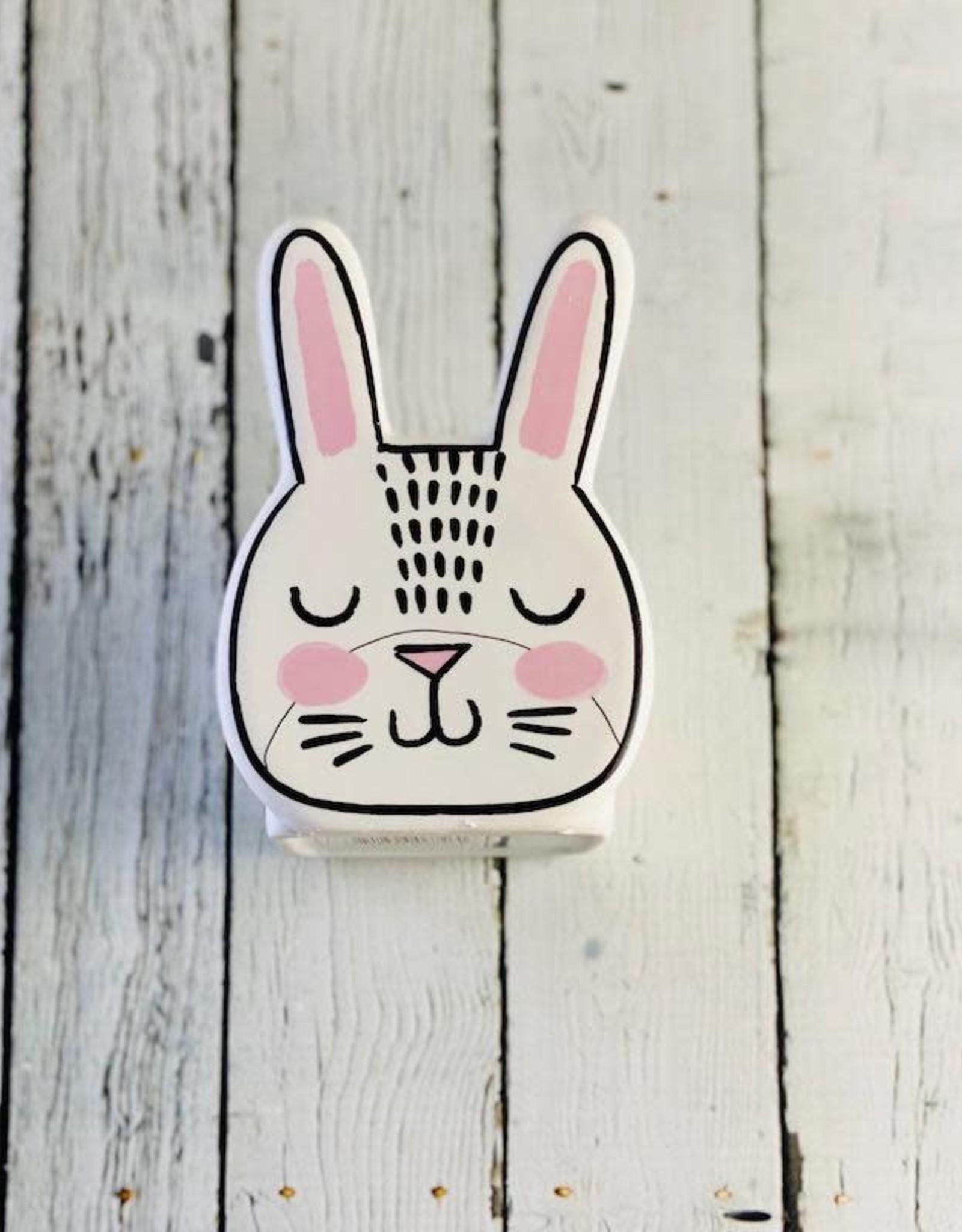 Bashful Bunny Pot