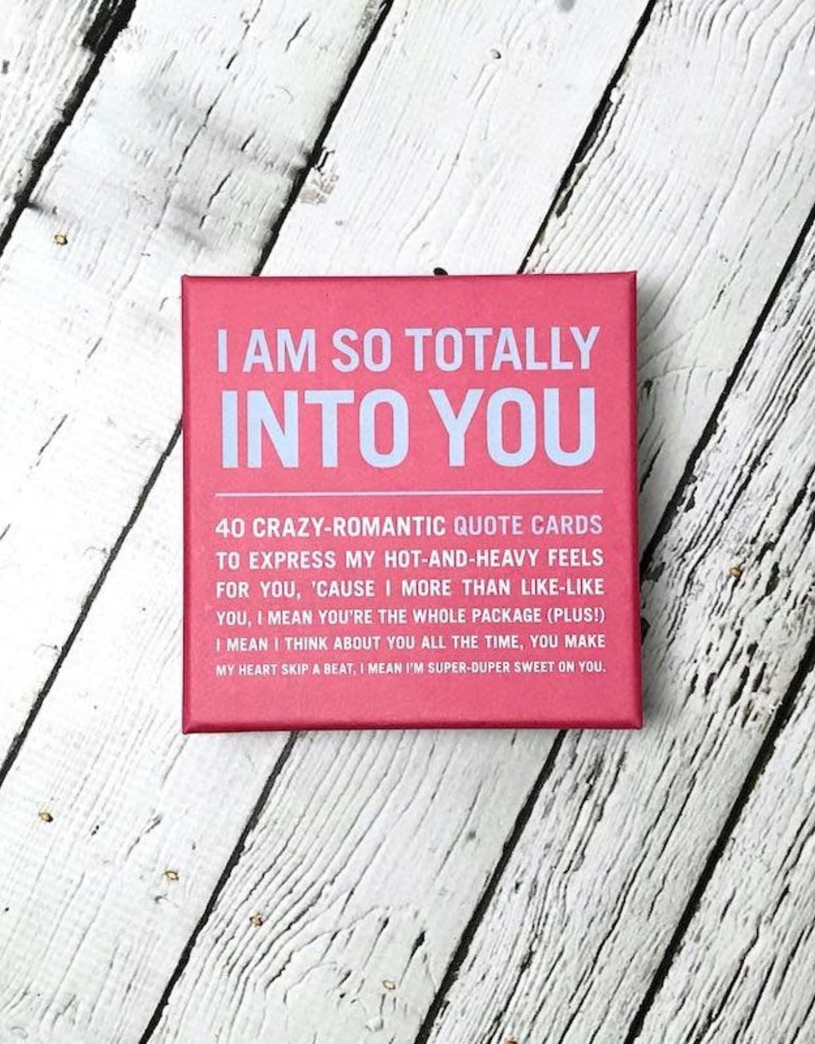 KnockKnock I Am So Totally Into You Inner-Truth Deck