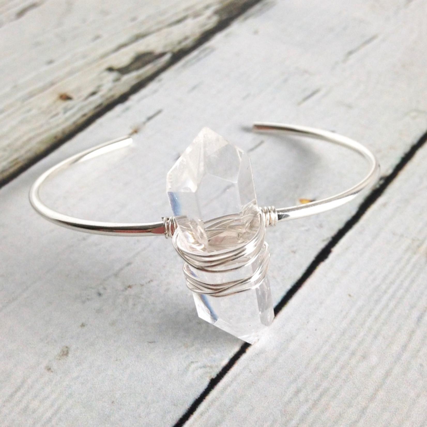 Handmade Silver Rhea Bracelet