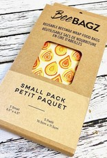 BeeBagz Beeswax Wrap 5 Small Bag Pack