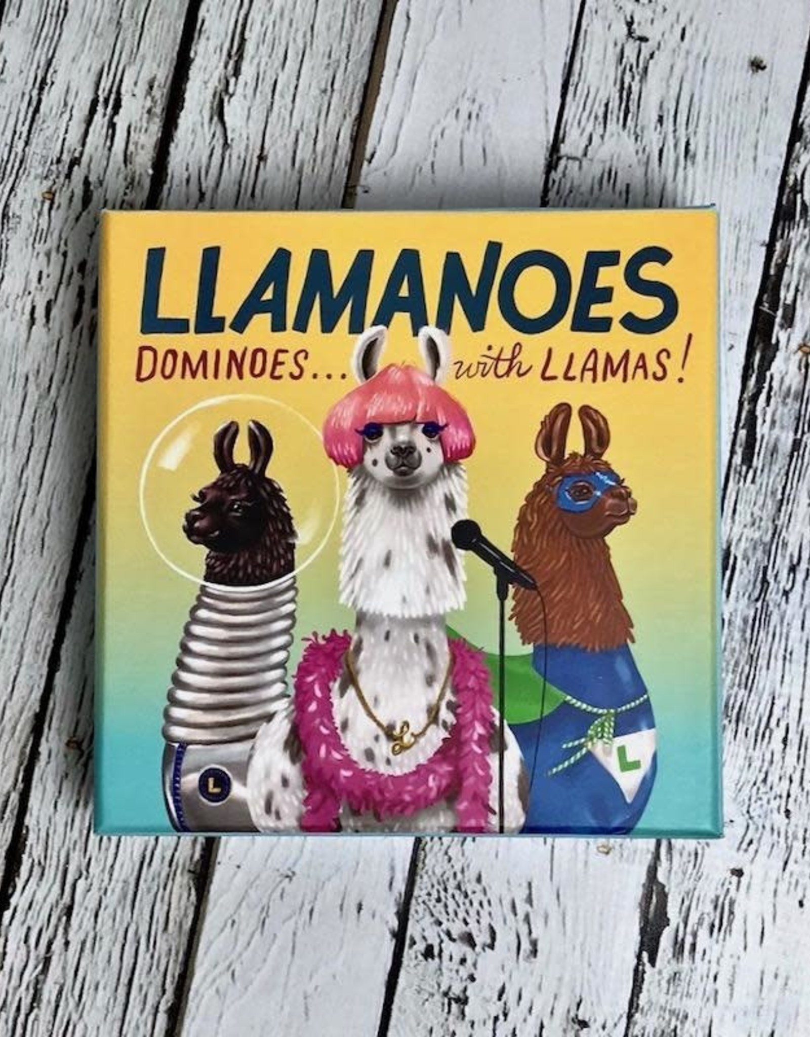 Llamanoes: Dominoes