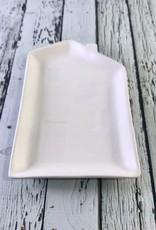 "CREATIVECOOP 7""L Stoneware House Plate"