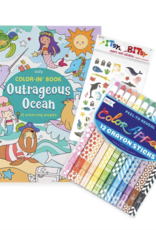 Outrageous Oceans Appeal Coloring Pack