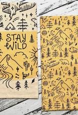 NOW Stay Wild Dishtowel