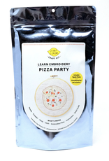 Pizza Embroidery Craft Kit