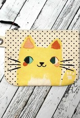 NOW Meow Meow Large Zipper Pouch