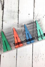 Tannenbaum Tree Itty BItty Mods, Set of 12