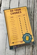 Do Your Chores Pegboard