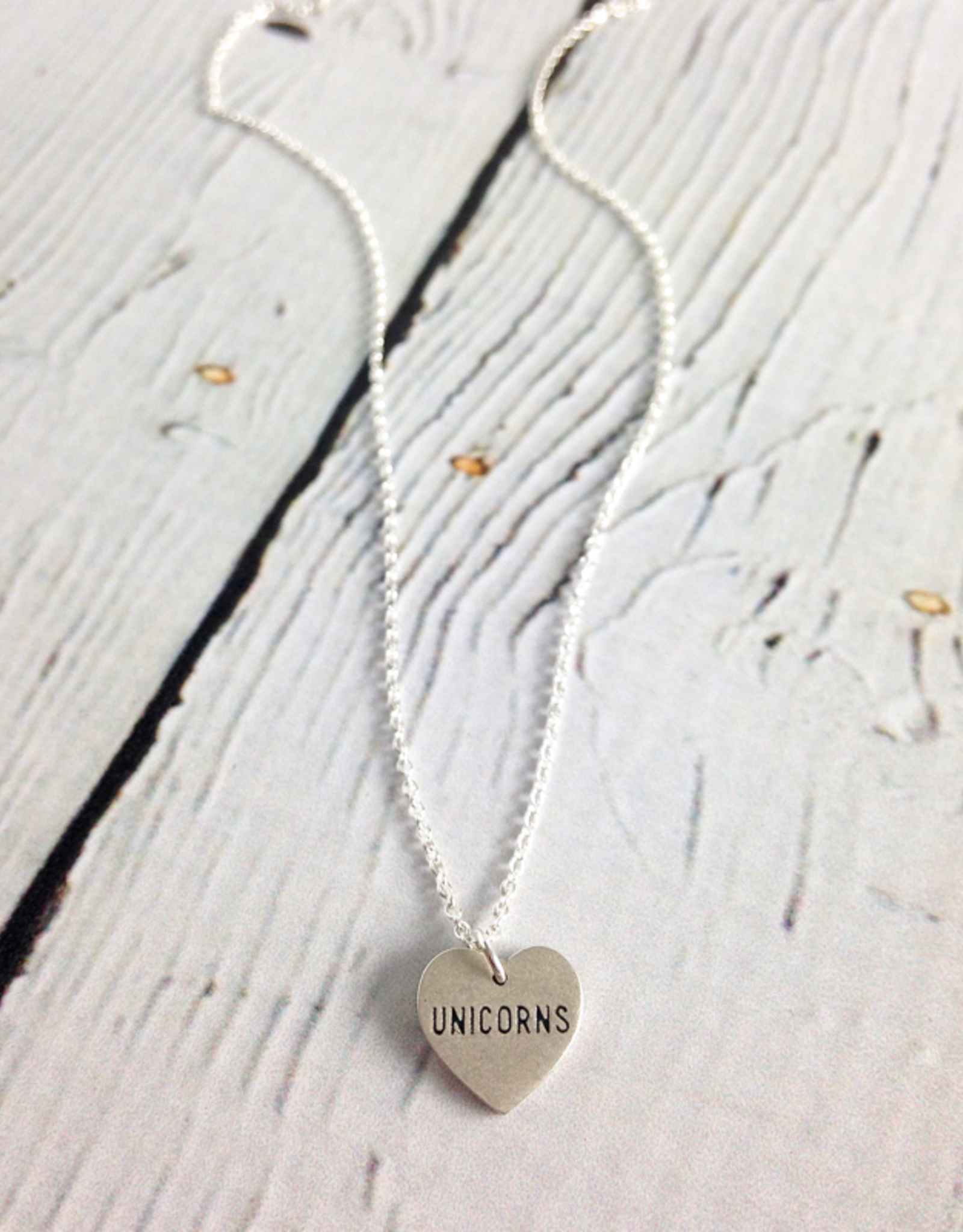 Dogeared Handmade Sterling Silver The Sparkle is Real Unicorn Necklace