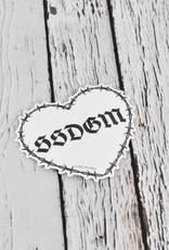 Heart SSDGM Sticker