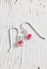 Handmade Tiny Stack Birthstone Earrings