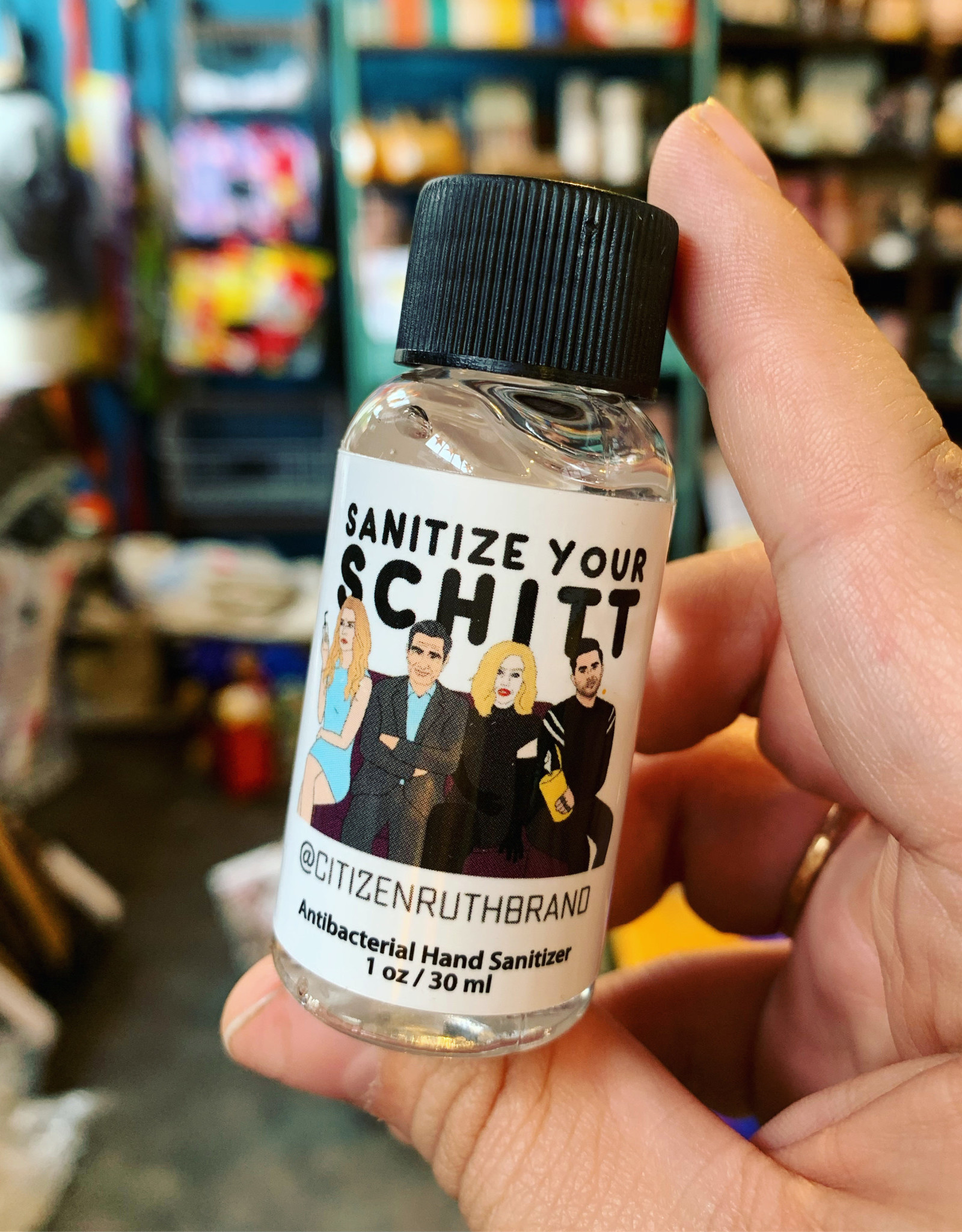 Citizen Ruth Sanitize Your Schitt Hand Sanitizer 1oz
