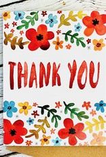 Little Truths Floral Thank You Card