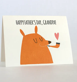 Fugu Fugu Press Father's Day Grandpa Bear Card