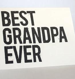 Best Grandpa Ever Card