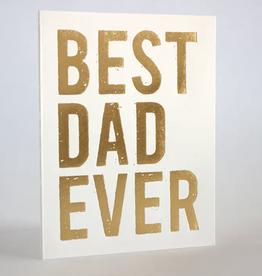 Fugu Fugu Press Best Dad Ever Card