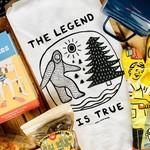 Bigfoot Tea Towel