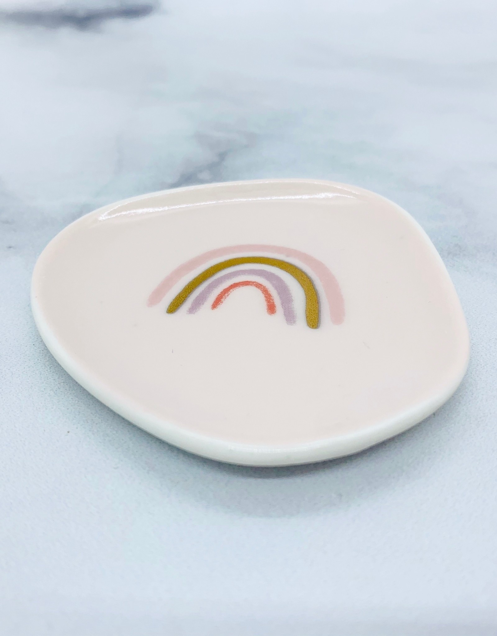 Mini Canv Rainbow Organic Trinket Tray