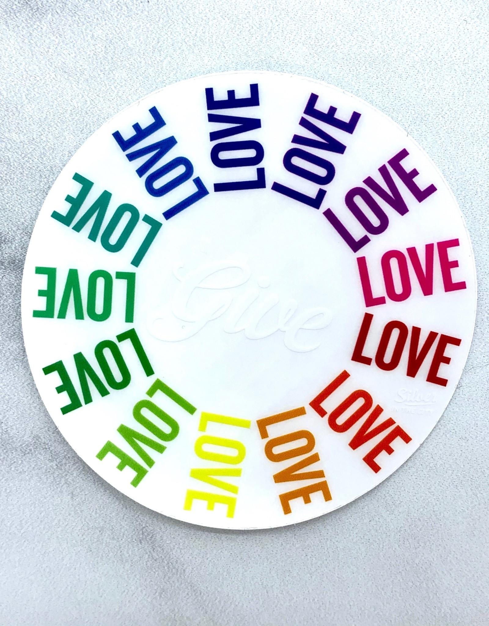 Give Love Sticker