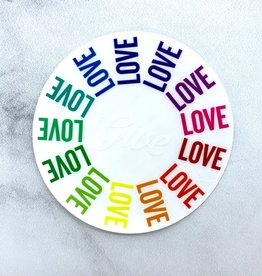 Give Love Sticker