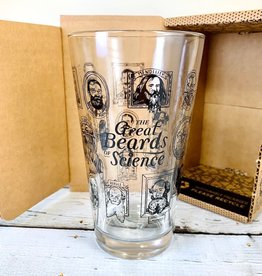 Beards of Science Pint Glass